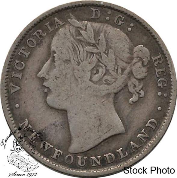 Canada: Newfoundland 1870 20 Cent VG8
