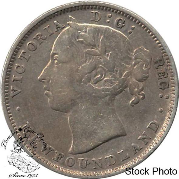 Canada: Newfoundland 1882H 20 Cent F12