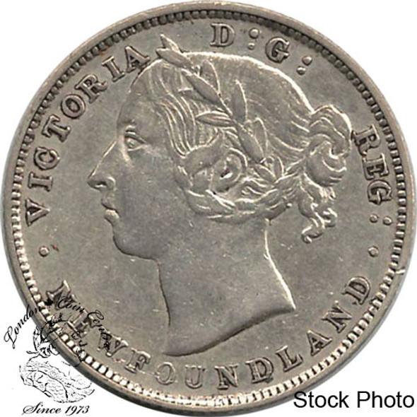 Canada: Newfoundland 1888 20 Cent VF20