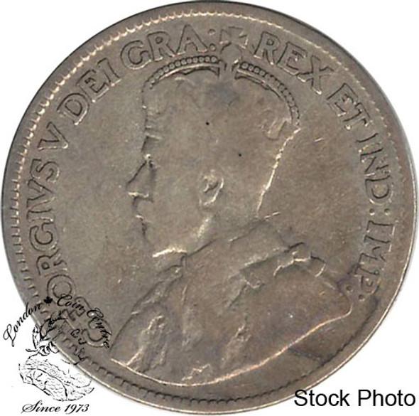 Canada: Newfoundland 1917c 25 Cent VG8