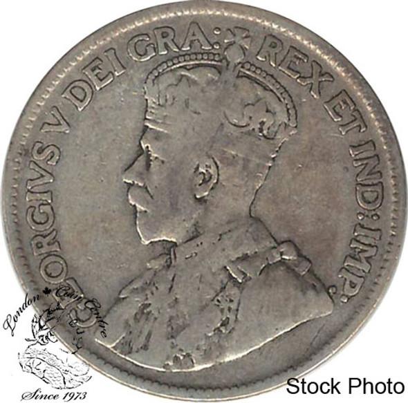 Canada: Newfoundland 1917c 25 Cent F12