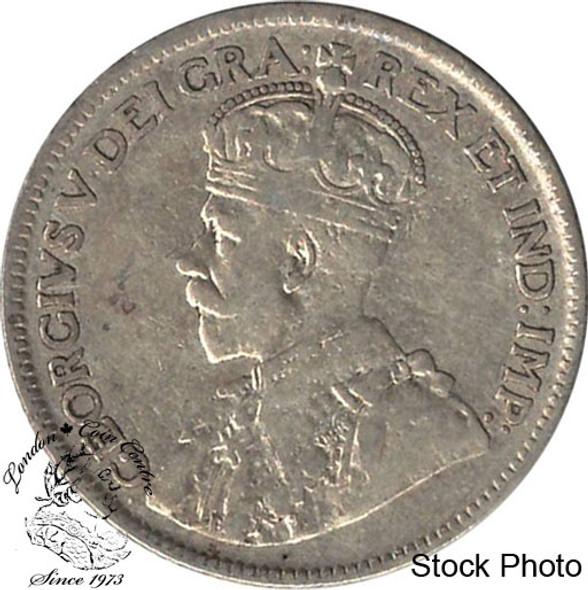 Canada: Newfoundland 1917c 25 Cent VF20