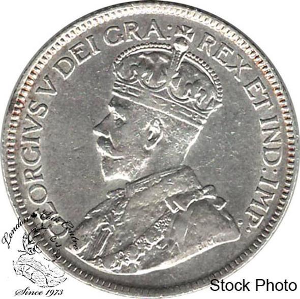 Canada: Newfoundland 1919c 25 Cent EF40