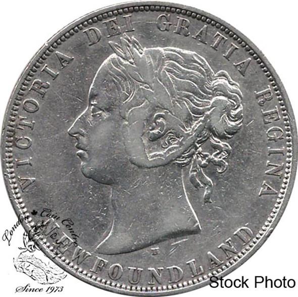 Canada: Newfoundland 1872H 50 Cent VF20