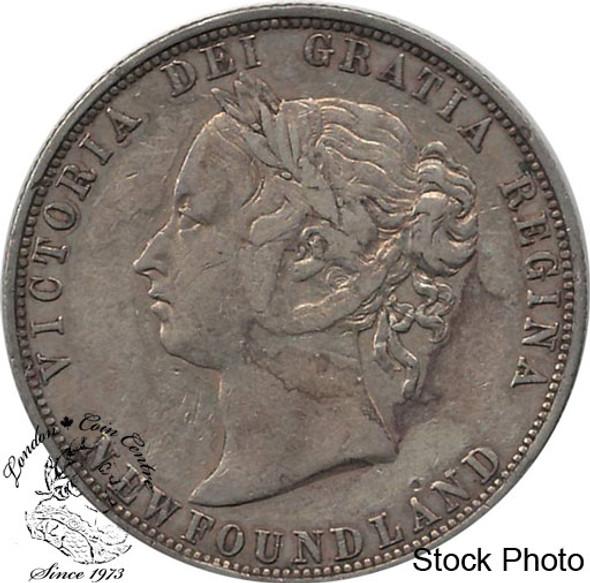Canada: Newfoundland 1881 50 Cent F12
