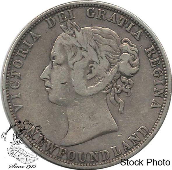Canada: Newfoundland 1888 50 Cent F12