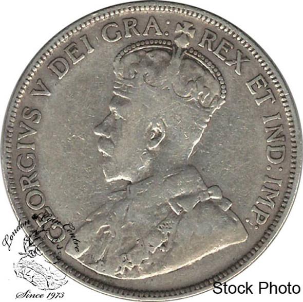 Canada: Newfoundland 1911 50 Cent VG8