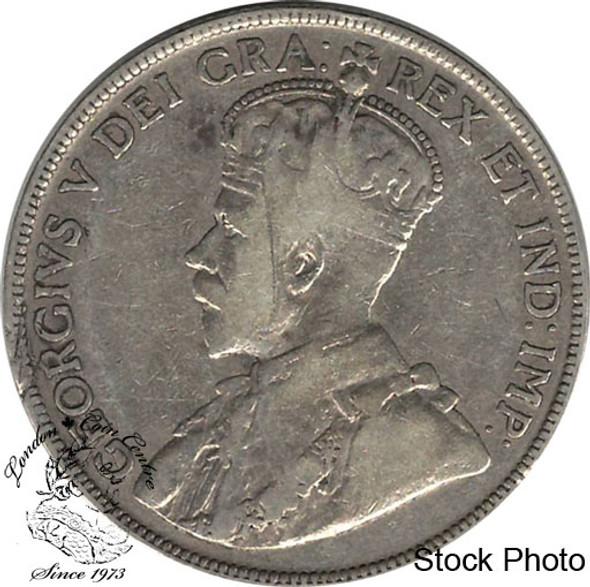 Canada: Newfoundland 1917c 50 Cent VG8