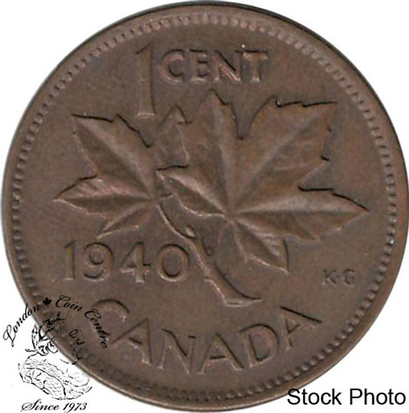 Canada: 1940 1 Cent MS60 Brown