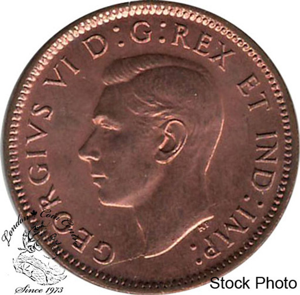 Canada: 1943 1 Cent MS63 Red