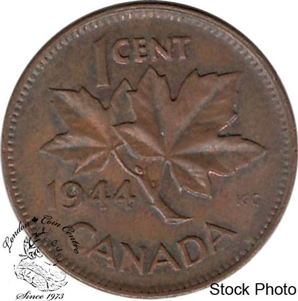 Canada: 1944 1 Cent MS60 Brown