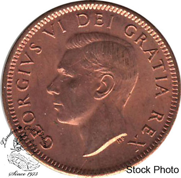Canada: 1951 1 Cent MS63 Red