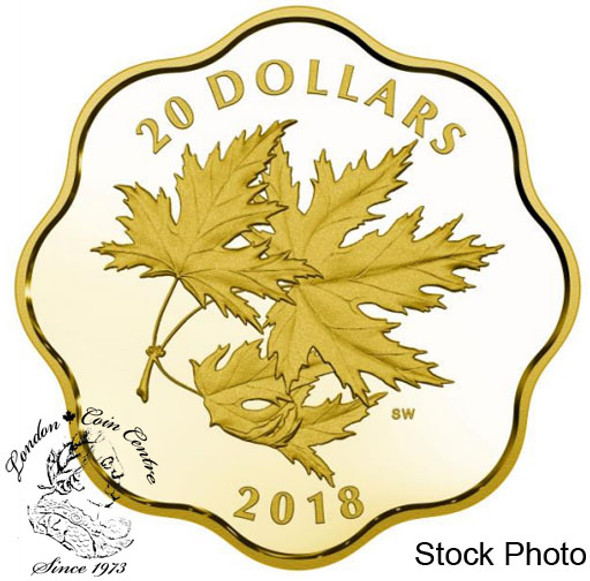 Canada: 2018 $20 Iconic Maple Leaves Fine Silver Coin