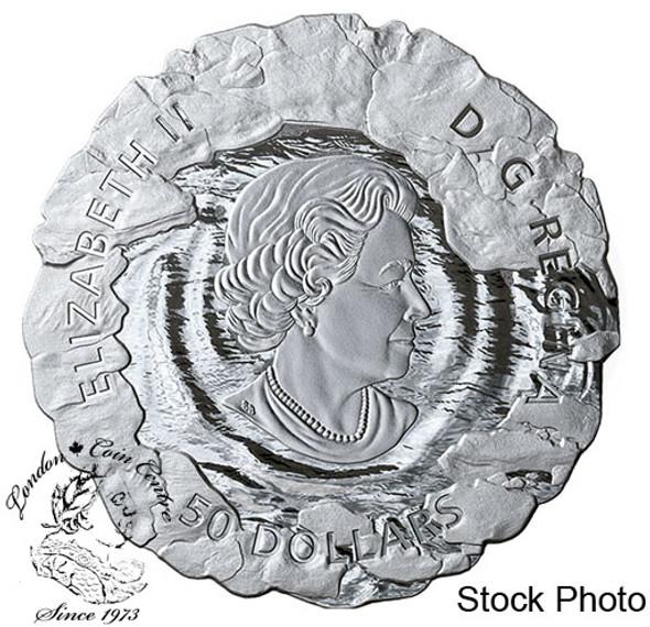 Canada: 2019 $50 Polar Bear 5 oz. Pure Silver Coin