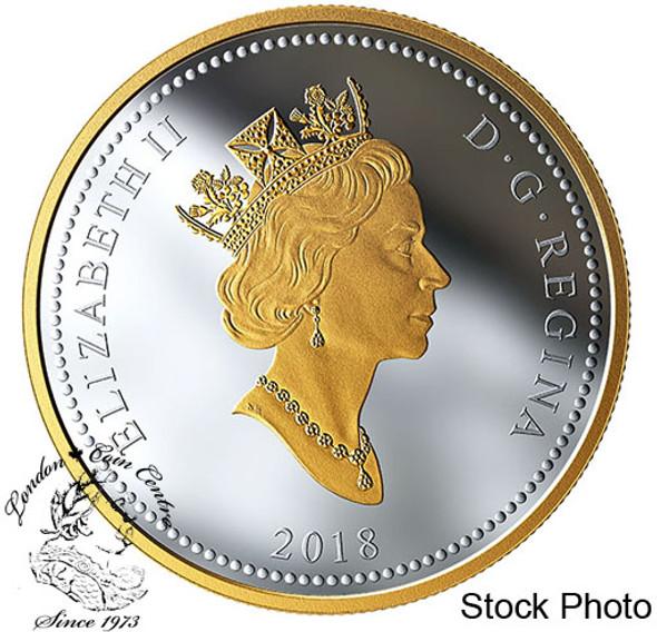 Canada: 2018 $1 National War Memorial Masters Club 2 oz. Pure Silver Coin
