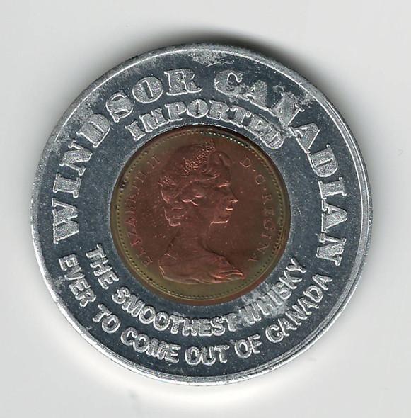 1969 Encased Penny Windsor Canadian Imported Whisky