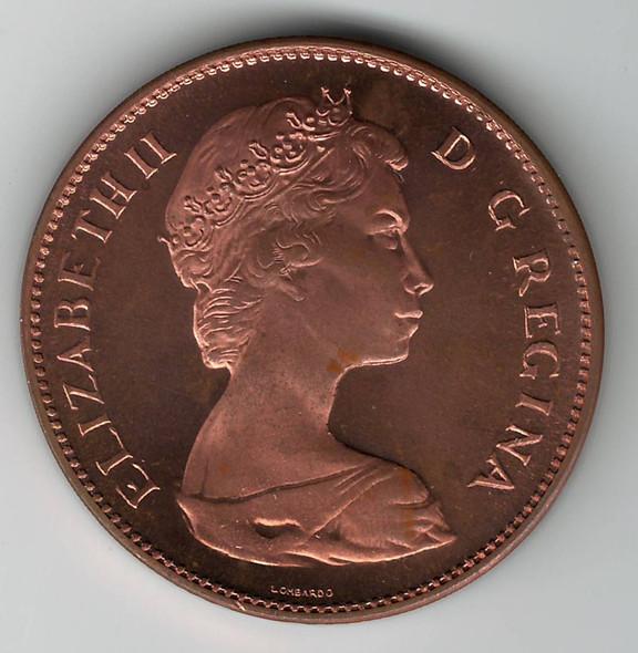 Canada: Sudbury 1965 The Big Penny Copper Medallion
