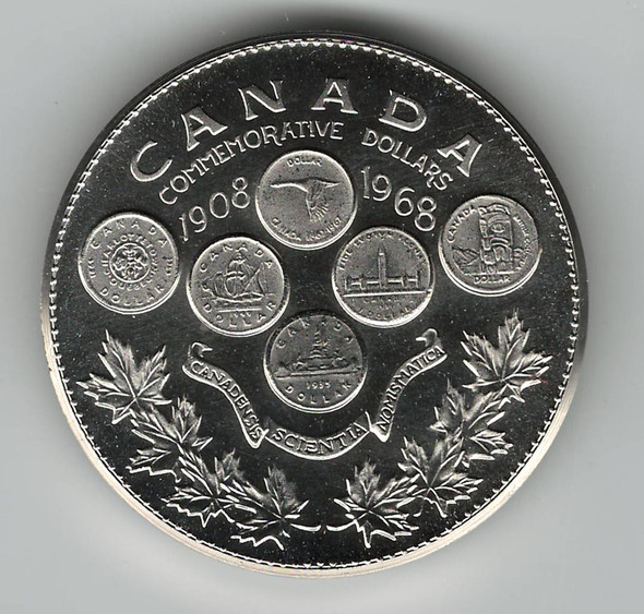1908 to 1968 Honoring 60 Years  of Numismatic Excellence