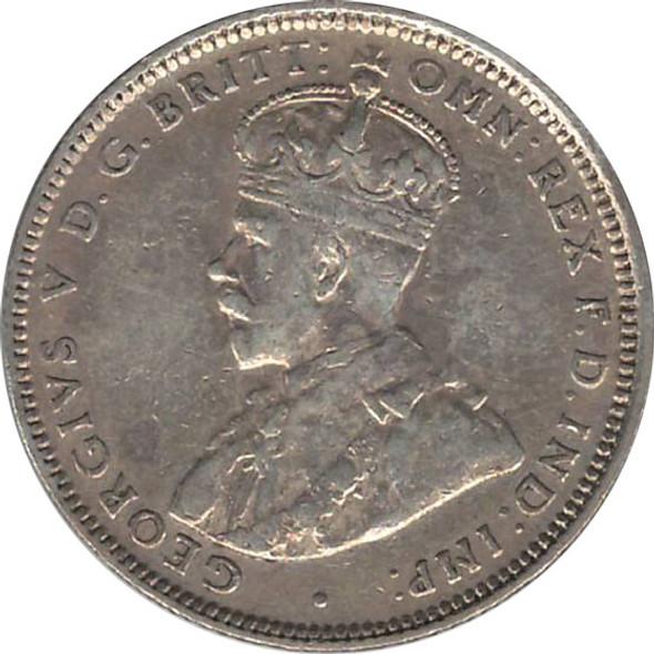 Australia: 1926 Silver Shilling VF20