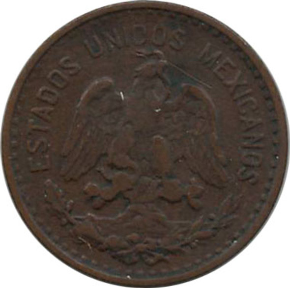 Mexico: 1915 Centavo VF20