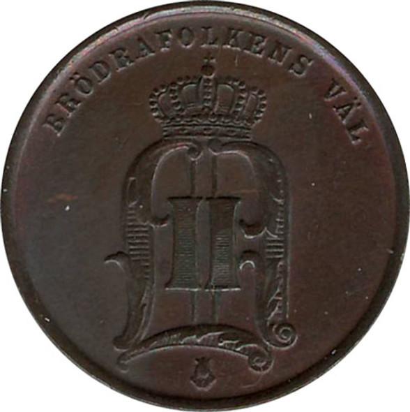 Sweden: 1874 2 Ore EF40