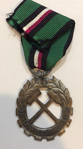 Poland: Mining Medal Republic of Poland PRL