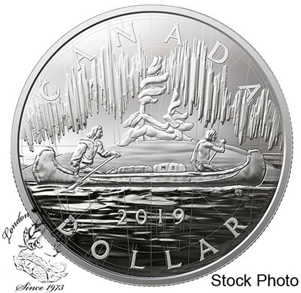 Canada: 2019 Royal Canadian Mint Coin Lore: Back to Concept 2 oz. Pure Silver Two-Coin Set