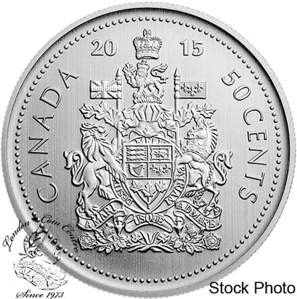 Canada: 2015 50 Cents B.U.