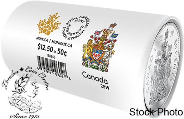 Canada: 2019 50 Cent Circulation Coin Roll