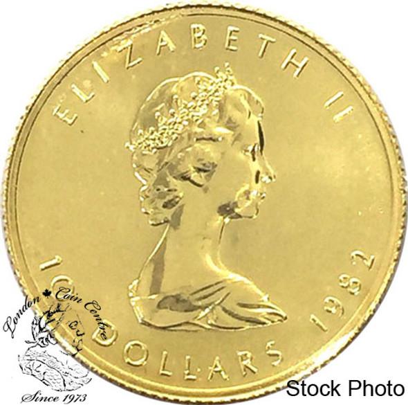 Canada: $10 Pure Gold 1/4 oz oz Maple (Random Year)