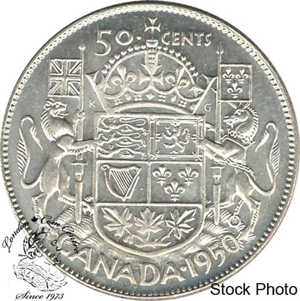 Canada: 1950 50 Cents Des 0 MS63
