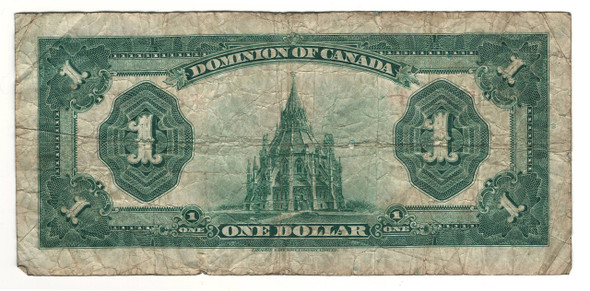 Canada: 1923 $1 Banknote - Dominion of Canada F1164354