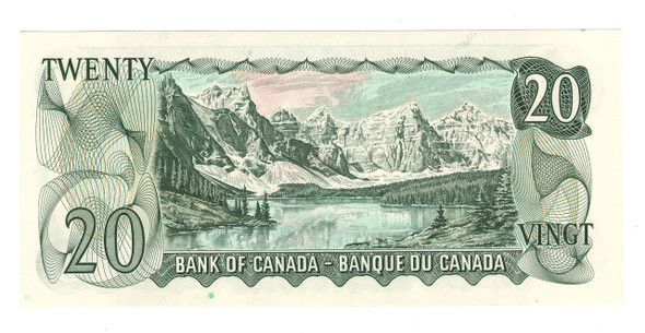 Canada: 1969 $20 Banknote Bank of Canada Lot#13