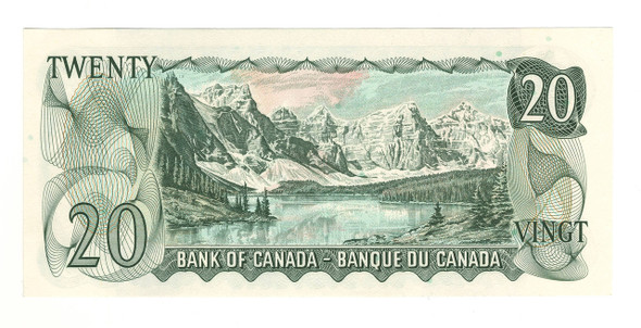 Canada: 1969 $20 Banknote Bank of Canada Lot#14
