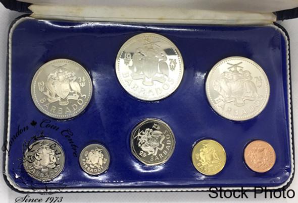Barbados: 1974 Proof Coin Set