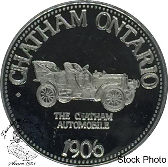 Canada: 1977 Chatham Ontario 1906 The Chatham Automobile Trade Dollar