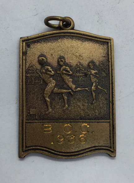 Canada: 1936 Beaches Olympic Club Bronze Medal