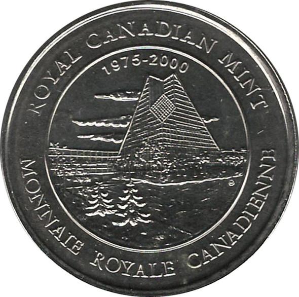 Canada: 1999 Test Token Medallion PL