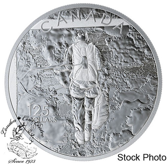 Canada: 2019 $125 75th Anniversary of The Normandy Campaign: Operation Tonga 1/2 Kilogram Pure Silver Coin