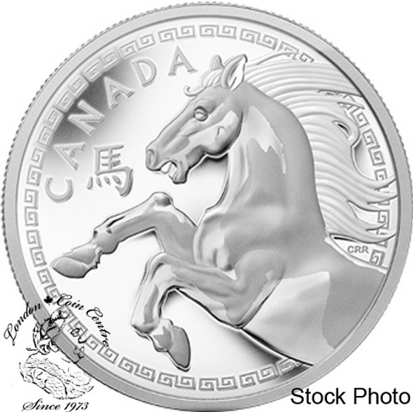 Canada: 2014 $250 The Year of the Horse Silver Kilogram Coin