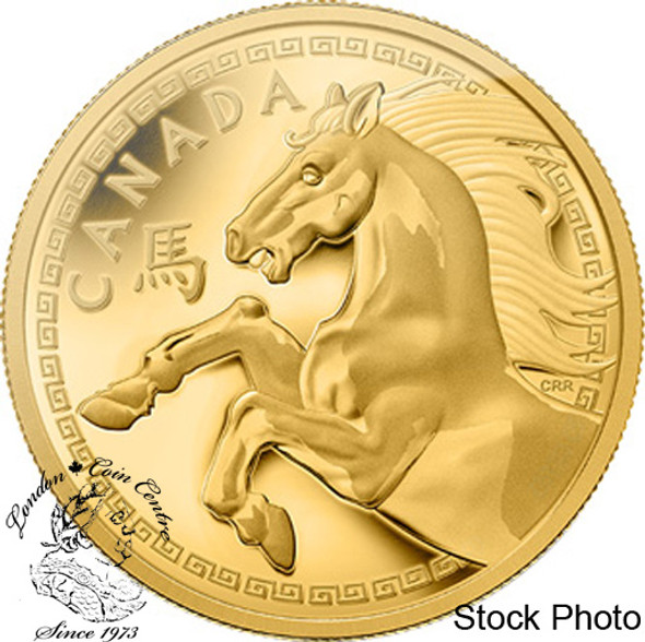 Canada: 2014 $2500 The Year of the Horse Gold Kilogram Coin