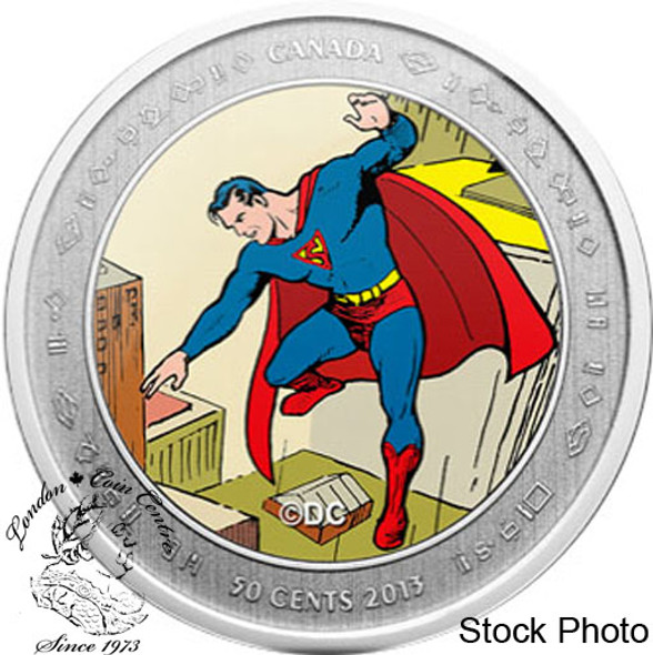 Canada: 2013 Superman™: Then and Now Coin & Stamp Set