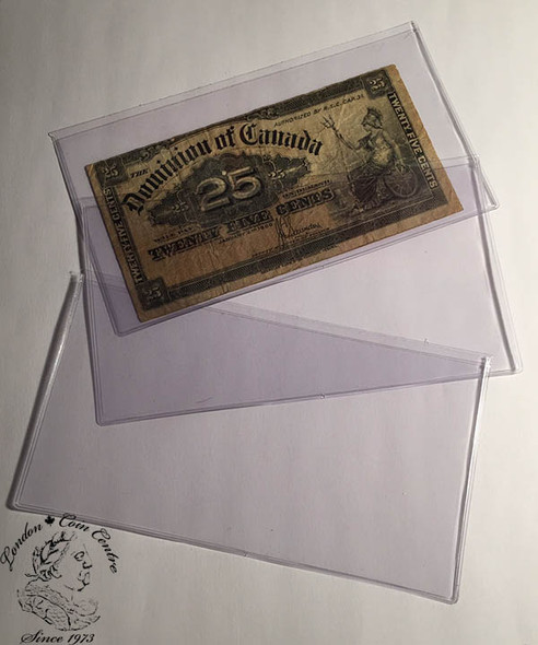 50 x Banknote Holders Small Size