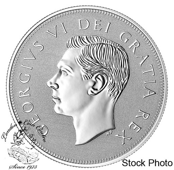 Canada: 2019 $1 Heritage of the Royal Canadian Mint: The Matthew 1 oz. Pure Silver Piedfort
