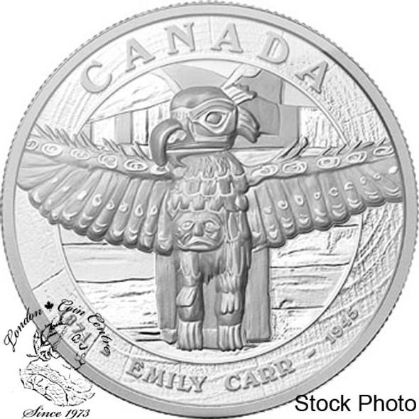 Canada: 2013 $500 Emily Carr's Tsatsisnukomi BC 5 kg Silver Coin