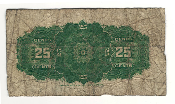 Canada: 1900 25 Cent Banknote Dominion of Canada DC-15b Lot#28