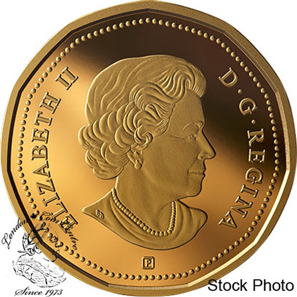 Canada: 2019 $1 Coloured Gold-Plated Pure Silver Coin