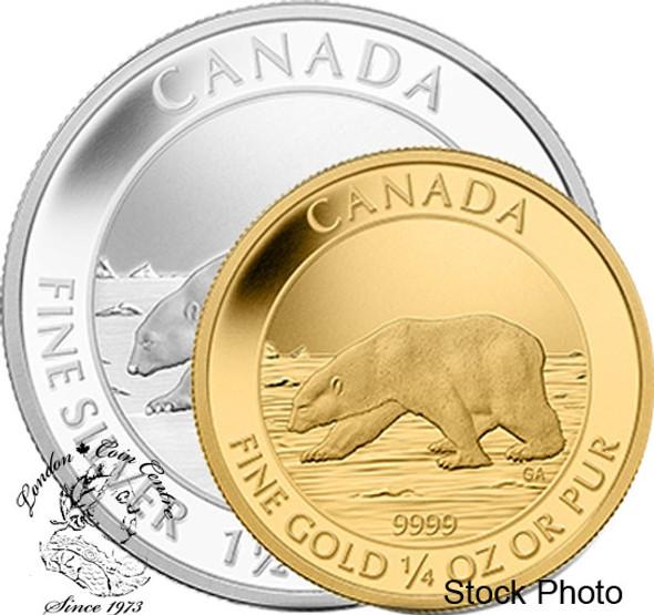 Canada: 2013 Polar Bear Gold & Silver Proof Coin Set