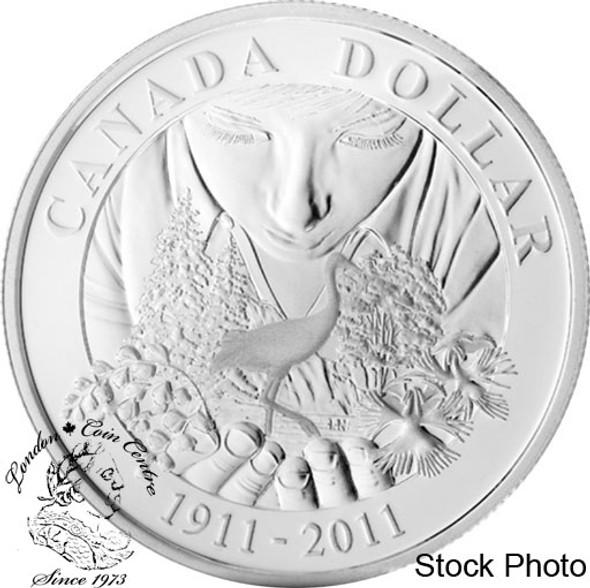 Canada: 2011 $1 100th Anniversary of Parks Canada BU Silver Dollar