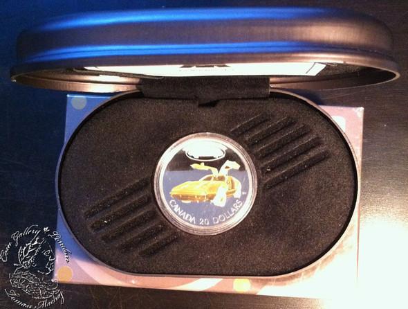 Canada: 2003 $20 The Bricklin SV-1 Silver Coin